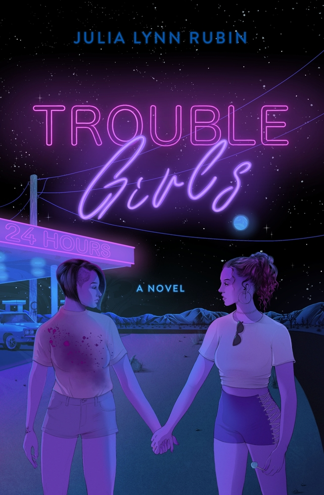 cover for Trouble Girls