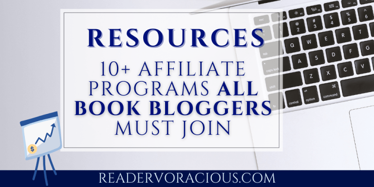 10 Affiliate programs for book bloggers to join