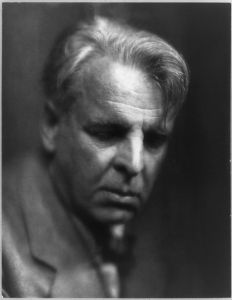 Photo of Yeats by Pirie MacDonald, 1933*