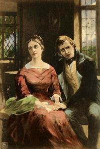 Dorothea and Will Ladislaw. 1910 Illustration.