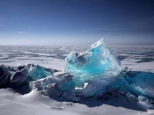 Arctic ice formation