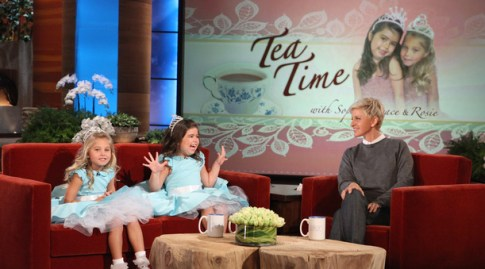 Tea Time with Sophia Grace and Rosie on Ellen