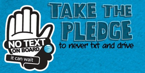 AT&T it can wait image