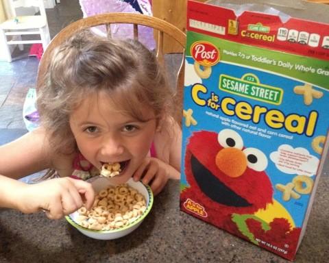 Post Sesame Street Cereal 1