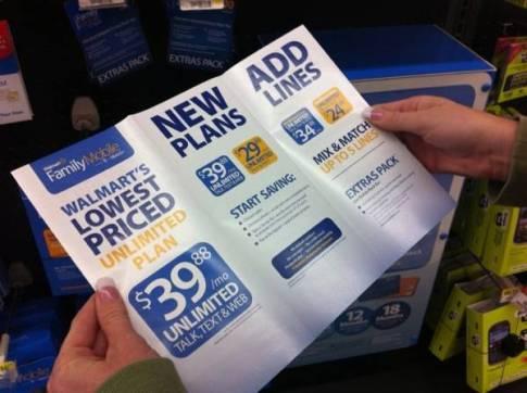 Walmart's Family Mobile Plan 3 #shop
