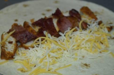 Cheesy Chicken Bacon Wrap Recipe 6