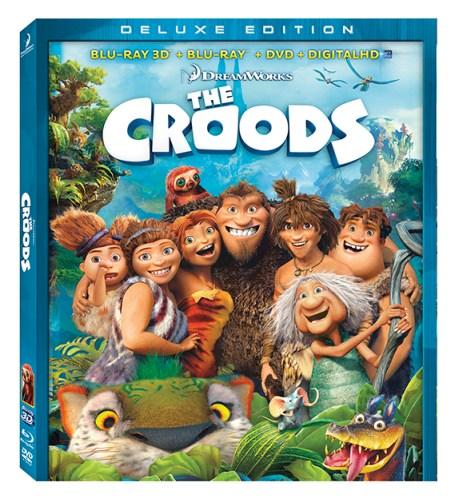 Croods Blu-ray DVD