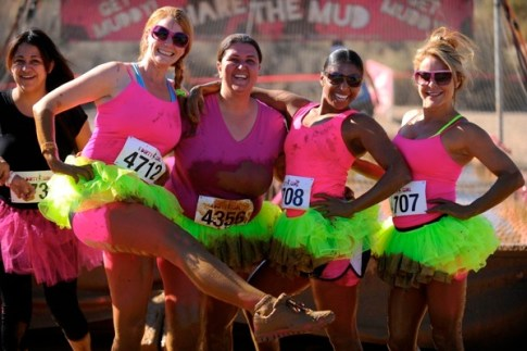 Dirty Girl Mud Run After Picture
