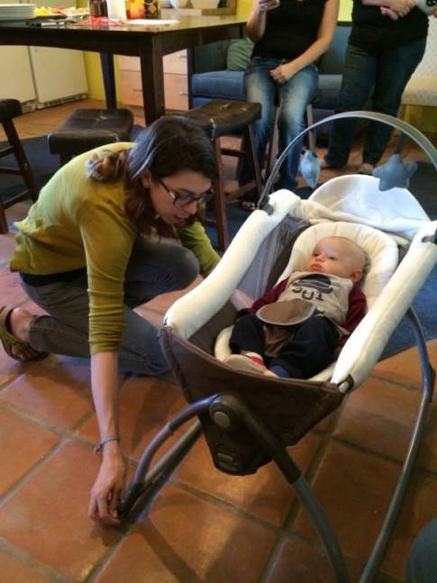 #Graco15ForMe Graco Little Lounger 6