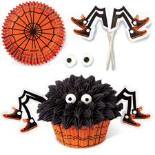 Wilton Spooky Spider Cupcakes