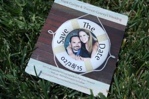 #WeddingWednesday #SavetheDates #FrankAndShannon #Wedding