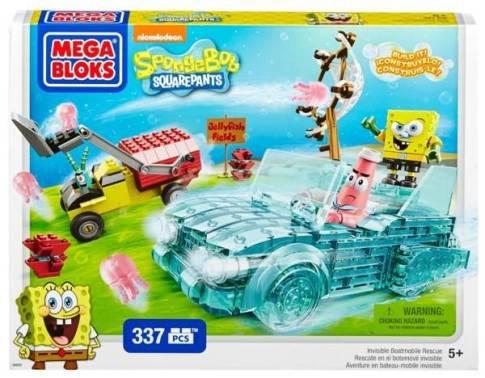 #MegaBloks #SpongeBob #InvisibleBoat #giveaway #ad
