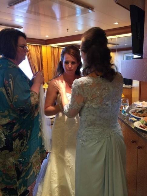 #FrankAndShannon #Wedding #bridal #makeup #WeddingCruise