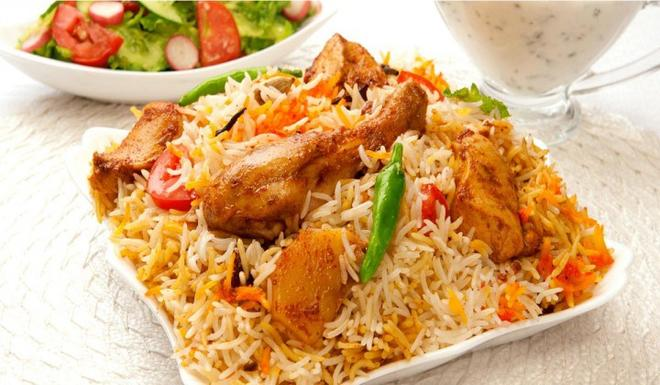 spicy rice with lemon sauce