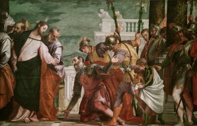 Christ and the, Paolo Cagliari 1571 Centurion