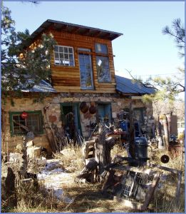 House made of junk