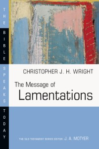 Wright Lamentations