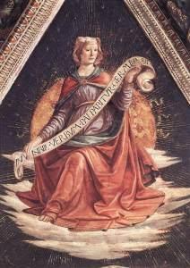 Sibyl by Ghirlandaio, 1485