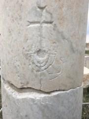 Menorah and Cross at Laodicea
