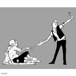 Hypocrite Selfie