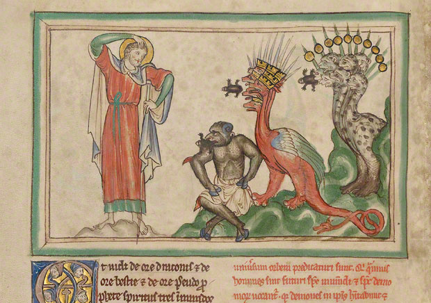 Unclean spirits, Getty Apocalypse. Ms. Ludwig