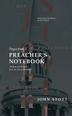 Stott, Preacher's Notebook