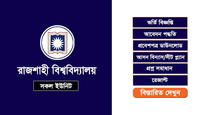 Rajshahi University Admission Result 2019-20