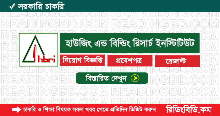 Housing and Building Research Institute Job