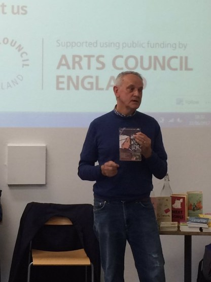 Alan Mahar Reading and Being Read