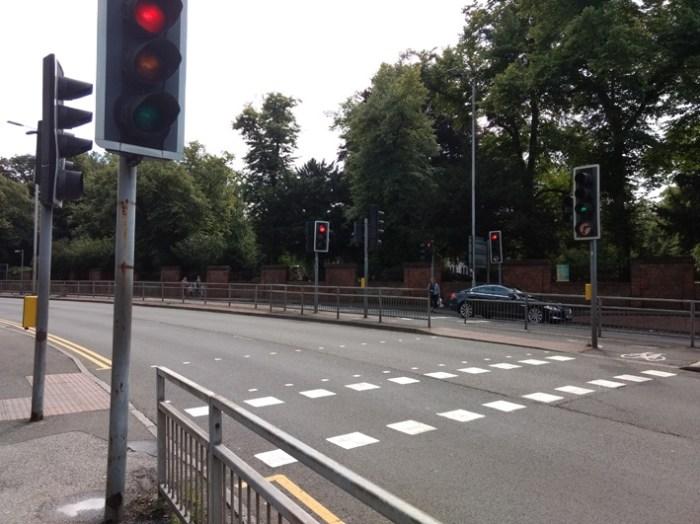 Forbury corner