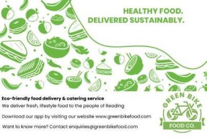 Green Bike Food advert