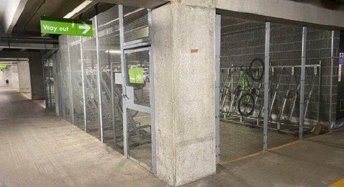 Q-park Bicycle Storage