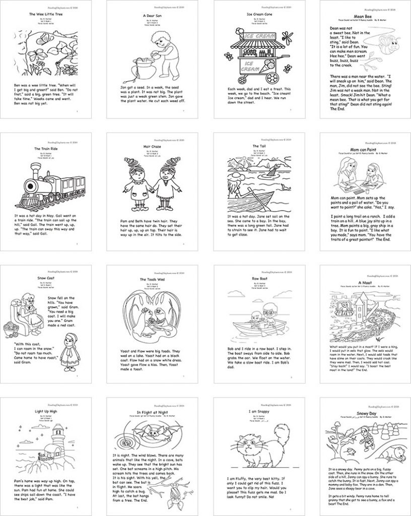 hight resolution of Sight Word Stories PDF - Reading Elephant