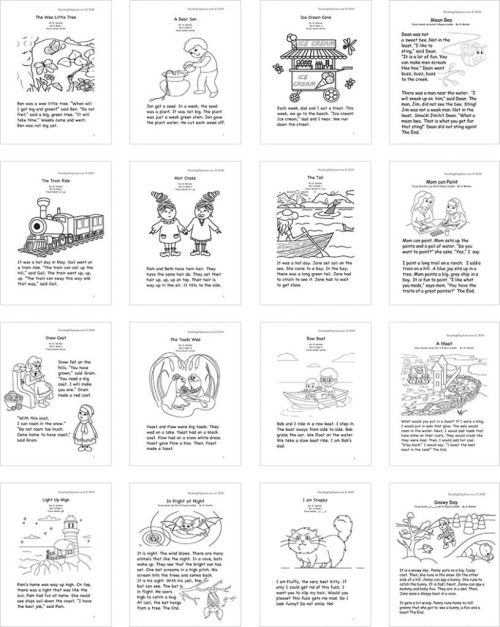 small resolution of Sight Word Stories PDF - Reading Elephant