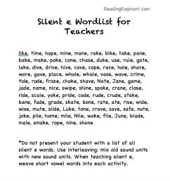 Silent e Worksheets pdf (Igloo Fun!) - Reading Elephant [ 896 x 880 Pixel ]