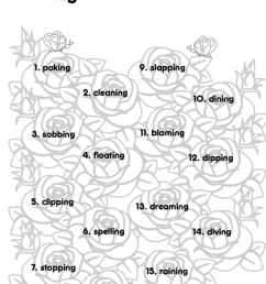 ing Worksheets to Practice Inflectional Endings - Reading Elephant [ 1024 x 830 Pixel ]
