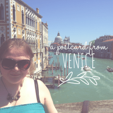 A Postcard from Venice