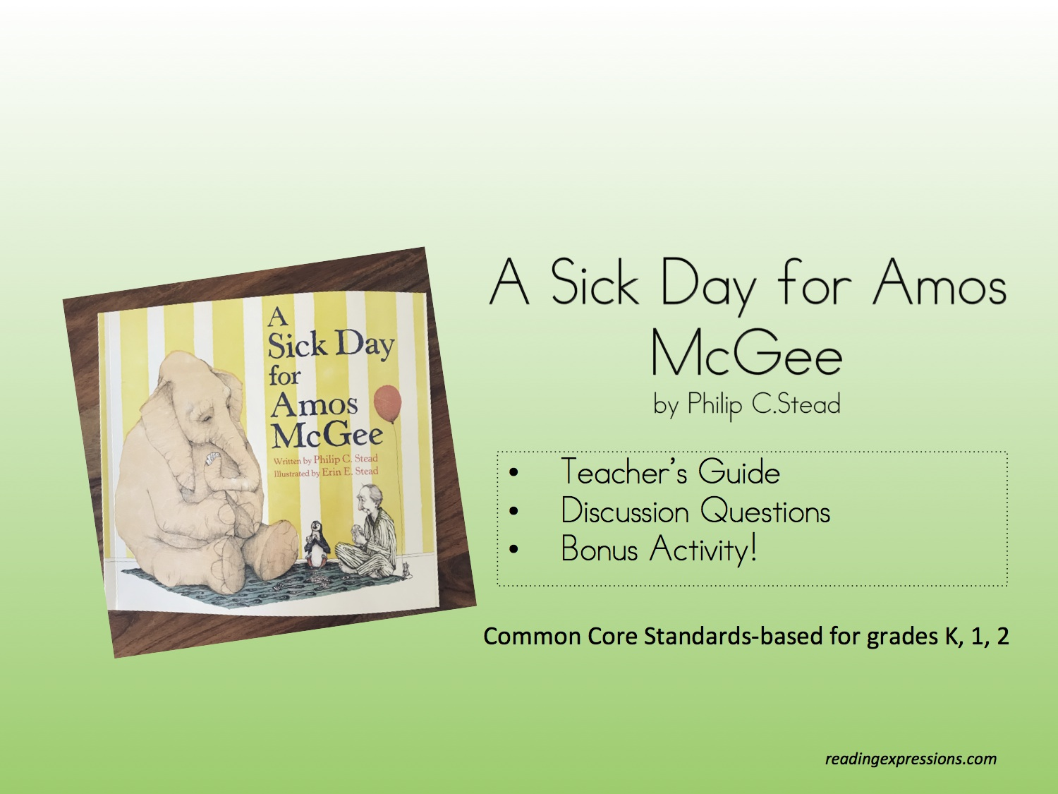 hight resolution of A Sick Day for Amos McGee – Reading Expressions