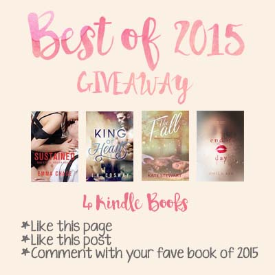 Giveaway ♥ Best of 2015