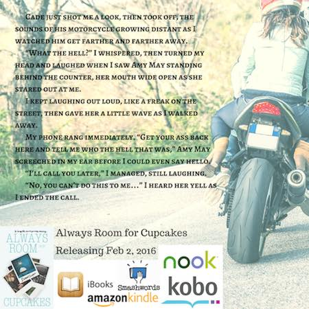 Teaser Tuesday ♥ Always Room For Cupcakes by Bethany Lopez