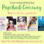 Paperback Blog Hop Giveaway