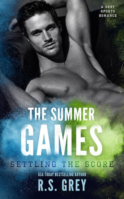 Cover Reveal ♥ The Summer Games: Settling the Score by R.S. Grey