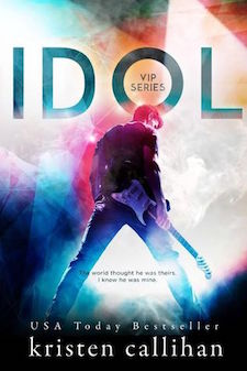 Review & Excerpt ♥ Idol by Kristen Callihan
