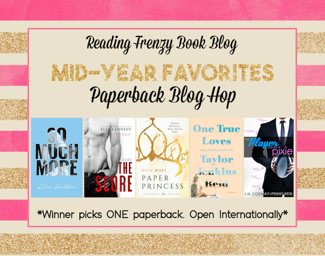 Mid-Year Favorites Blog Hop ♥ Paperback Giveaway