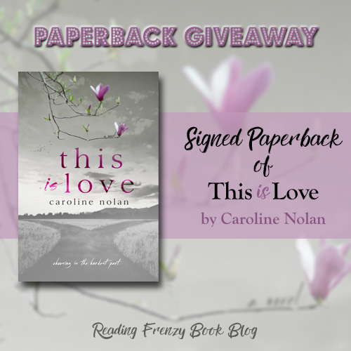This is Love giveaway