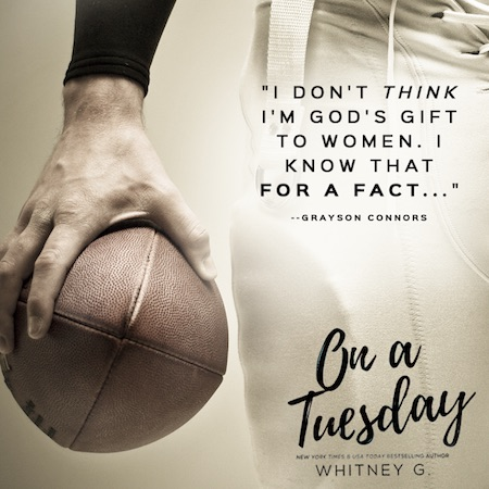 Release Blitz & Giveaway ♥ On a Tuesday by Whitney G.