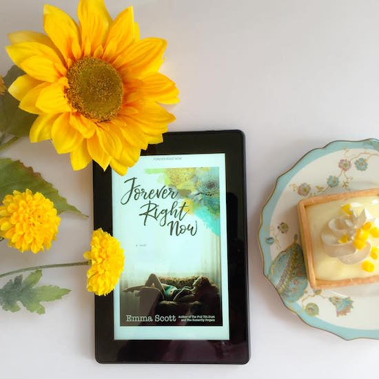 Forever Right Now by Emma Scott bookstagram