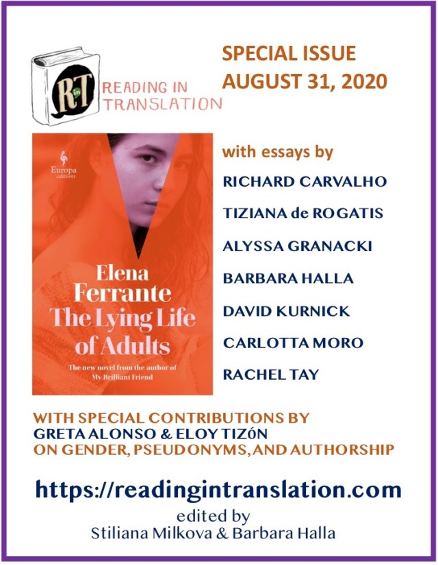 Ferrante Special Issue poster