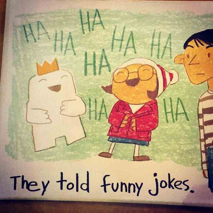 Imaginary friends are funny