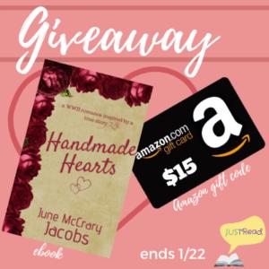 handmade hearts giveaway